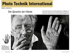 Die Sprache der Hände –Portfolio Walter Schels